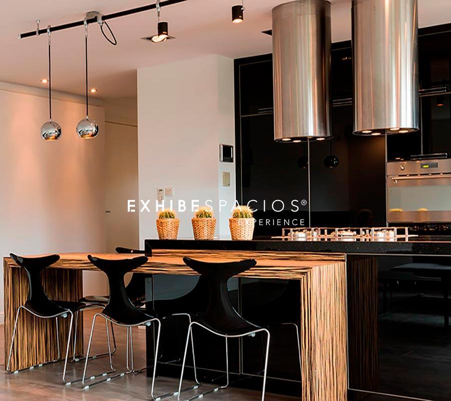 Poblenou Diagonal Mar, cocina de diseño moderno