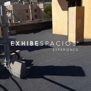 Impermeabilización y reformas de cubiertas en Barcelona e impermeabilizar goteras humedades y filtraciones impermeabilización de cubierta con tela asfáltica de pizarra