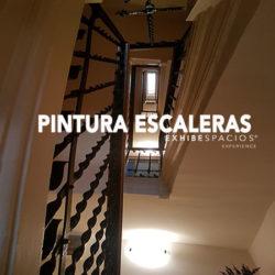PRESUPUESTO de pintura en Barcelona PINTURA DE ESCALERAS comunitarias, pintura lisa en techos y paredes y esmalte barandas y puertas