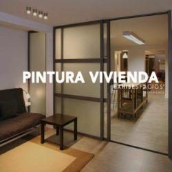 PRESUPUESTO de pintura en Barcelona de pisos con pintura plástica, en techos y paredes, carpintería metálica con esmalte al agua.