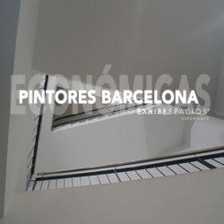 PINTORES BARATOS EN BARCELONA Y REFORMAS DE PISOS ESCALERAS Y COMUNIDADES ECONÓMICAS Y LOW COST