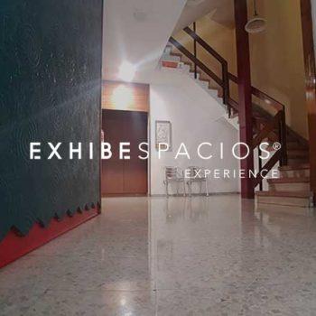 Reforma de Vestíbulo en Barcelona Ronda Sant Antoni; PRESUPUESTO EXHIBESPACIOS;