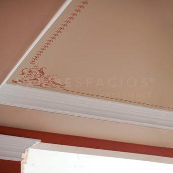ideas reforma y pintura de vestíbulos en Barcelona, pintar de molduras techos y paredes pintores