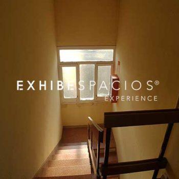 pintores de comunidades, pintar escalera comunidad vecinos en Barcelona Ronda Sant Antoni PROYECTO Y PRESUPUESTO DE REFORMA DE VESTÍBULO EN BARCELONA EXHIBESPACIOS