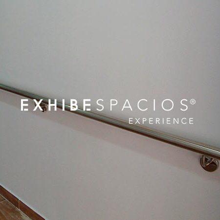 Presupuesto de pasamanos acero inoxidable en Barcelona barandillas de acero inoxidable para rampa en planos y escaleras en en comunidades de vecinos, vestíbulos y escaleras comunitarias en Barcelona