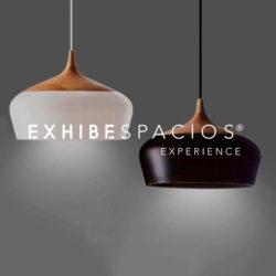 decoración de vestíbulos y escaleras comunitaria en Barcelona con Lamparas LED