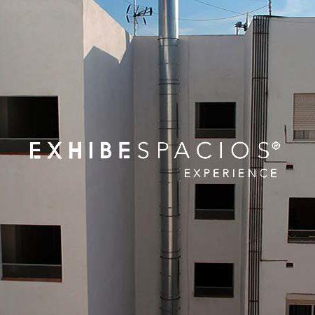 Rehabilitación de patios de luces en Barcelona y patios interiores de pintura en la provincia de Barcelona