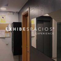 instalación de cámaras de VIGILANCIA videovigilancia en vestíbulos y escaleras, también montamos puertas de entrada de edificios en Barcelona