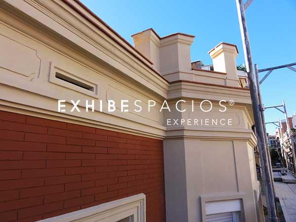 restauración de fachadas en Barcelona en edificios y restaurar ladrillo rojo